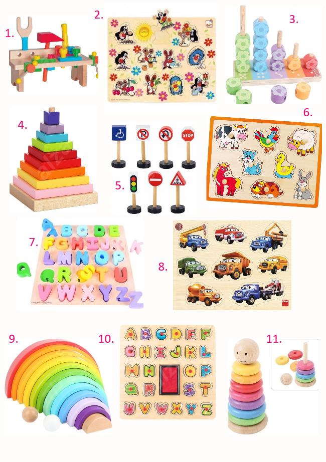Nákupný zoznam: drevené hračky / Čarovný život