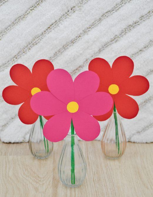 Papierové kvety ku Dňu matiek / Čarovný život